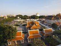 L'architettura tailandese tradizionale fotografie stock libere da diritti