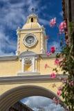 L'arco Antigua Guatemala di Santa Catalina Fotografia Stock