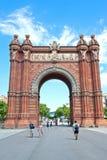 L'arco de Triomf Fotografia Stock