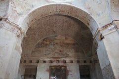 L'arco della chiesa ortodossa Fotografia Stock