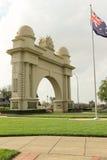 L'arco di Ballarat di Victory (1920) è un memoriale agli uomini di servizio ed alle donne restituiti di Ballarat e del distretto Fotografia Stock Libera da Diritti