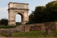L'arco di Titus Immagini Stock Libere da Diritti