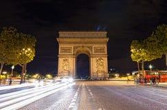 L'Arco di Trionfo fotografia stock libera da diritti