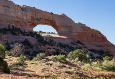 L'arco di Wilson, Utah fotografie stock