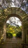 L'arco ed il punto di vista del vescovo Garden Immagini Stock