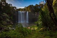 L'arcobaleno cade Kerikeri Nuova Zelanda Immagini Stock Libere da Diritti
