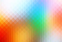 L'arcobaleno colora le file del fondo dei triangoli royalty illustrazione gratis