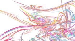 L'arcobaleno pastello lungamente sottrae Fotografie Stock