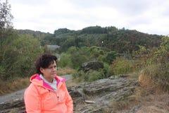 L'Ardenne à l'emplacement La Roche en Belgique Images libres de droits