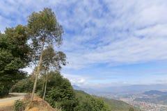 L'area montagnosa nordica della città di xiamen Immagini Stock Libere da Diritti