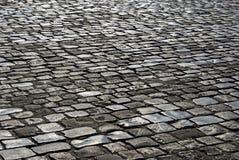 L'area pavimentata con la pietra Immagini Stock Libere da Diritti