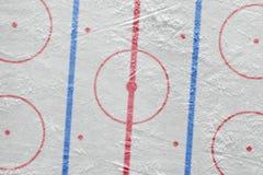 L'arena del hockey su ghiaccio fotografia stock