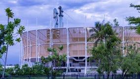 L'arena di Bangkok è un'arena di sport dell'interno, situata in Nong Chok Fotografia Stock Libera da Diritti