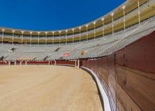 L'arena meravigliosa di Las Ventas di Madrid, Spagna fotografie stock