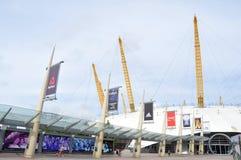 L'arena O2 Fotografia Stock