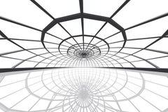 L'arena pattinante enorme 3D rende illustrazione di stock