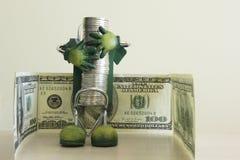 l'argent 4 sauvegardent à Image libre de droits