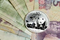 L'argent chinois - yuans Photos stock