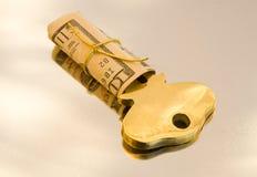 L'argent comptant est la clé ! Photographie stock libre de droits