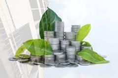 L'argent d'économie pour votre future habitude d'investissement est semblable au GR images stock