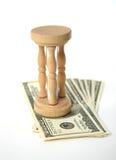 L'argent est un moment Image libre de droits