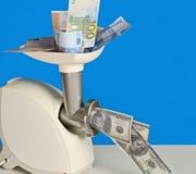 L'argent hachent Images libres de droits