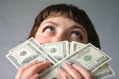 L'argent n'a aucune odeur ! Photo libre de droits