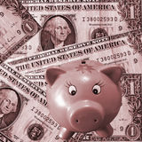 l'argent sauvegardent Image libre de droits
