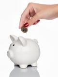 L'argent sauvegardent le concept Photo libre de droits