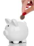 L'argent sauvegardent le concept Photo stock