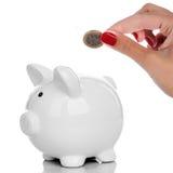L'argent sauvegardent le concept Image stock