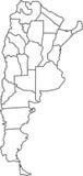 L'Argentina Illustrazione Vettoriale