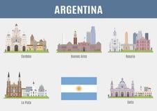 l'argentina royalty illustrazione gratis