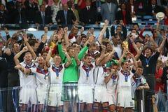 L'Argentina e la Bosnia un calcio di 2014 coppe del Mondo Immagine Stock