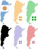 l'Argentine illustration libre de droits