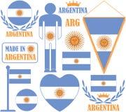 l'argentine Photo libre de droits