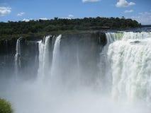 l'Argentine Brésil font l'iguassu de foz Images stock