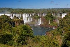l'Argentine Brésil font l'iguassu de foz image stock