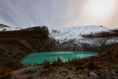 L'Argentine Glaciar Huemul images stock