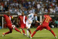 L'Argentine - le Panama - le Copa Amérique 2016 photographie stock