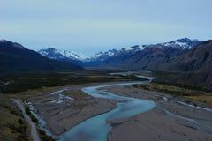 L'Argentine Mirador Rio De Las Vueltas images stock