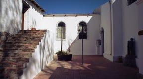 L'Argentine, Salta - patio tranquille près d'établissement vinicole Photos stock