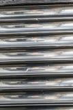 L'argento allinea la vecchia struttura del fondo del metallo Fotografia Stock Libera da Diritti