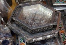 L'argento antico perfezionamento i cassetti immagini stock libere da diritti