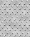 L'argento rivetta la lamiera sottile Illustrazione di Stock