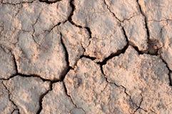 L'argilla è rotta Fotografia Stock