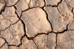 L'argilla è rotta Immagine Stock