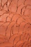 L'argilla copre di tegoli il reticolo Immagine Stock