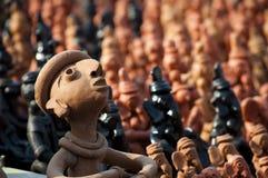 L'argilla handcrafts del Bengala, India Fotografie Stock Libere da Diritti