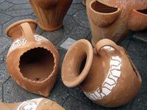 L'argilla si forma (1) Fotografia Stock